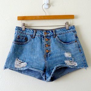 !! Last Chance !! Forever 21 Button Fly Distressed